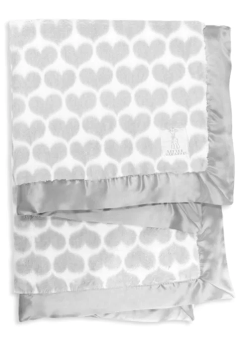 Little Giraffe Little Giraffe Luxe Diamond Blanket In Silver