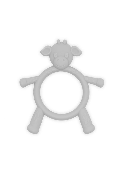 Little Giraffe Little Giraffe Teething Toy In Silver