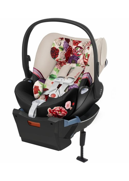 Cybex Cybex Cloud Q Sensorsafe Infant Car Seat In Light Spring Blossom (Reclines)