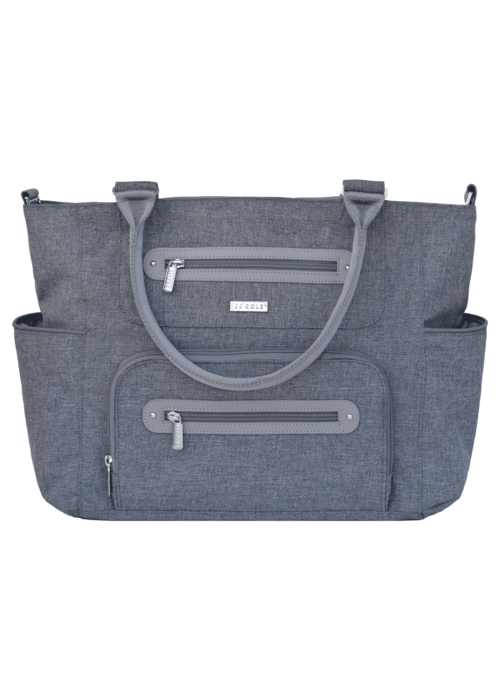 JJ Cole Collections JJ Cole Caprice Diaper Bag In Heather Grey