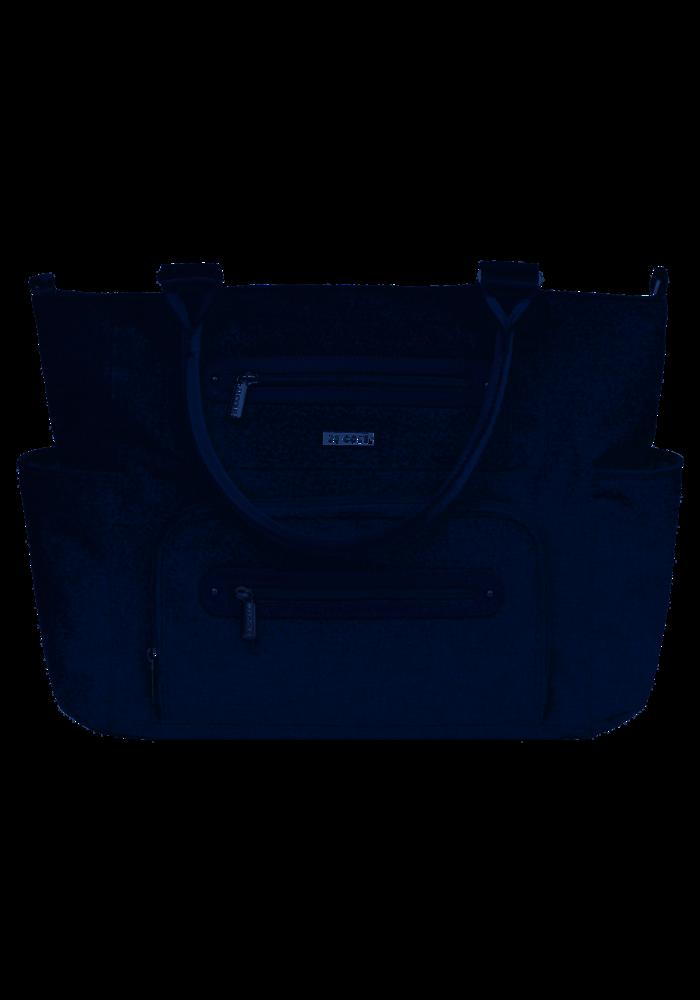 JJ Cole Caprice Diaper Bag In Heather Grey