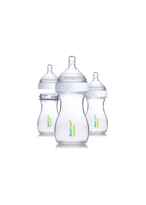 Born Free Born Free Breeze Plastic Bottle - 3 Pack (5 Ounce)
