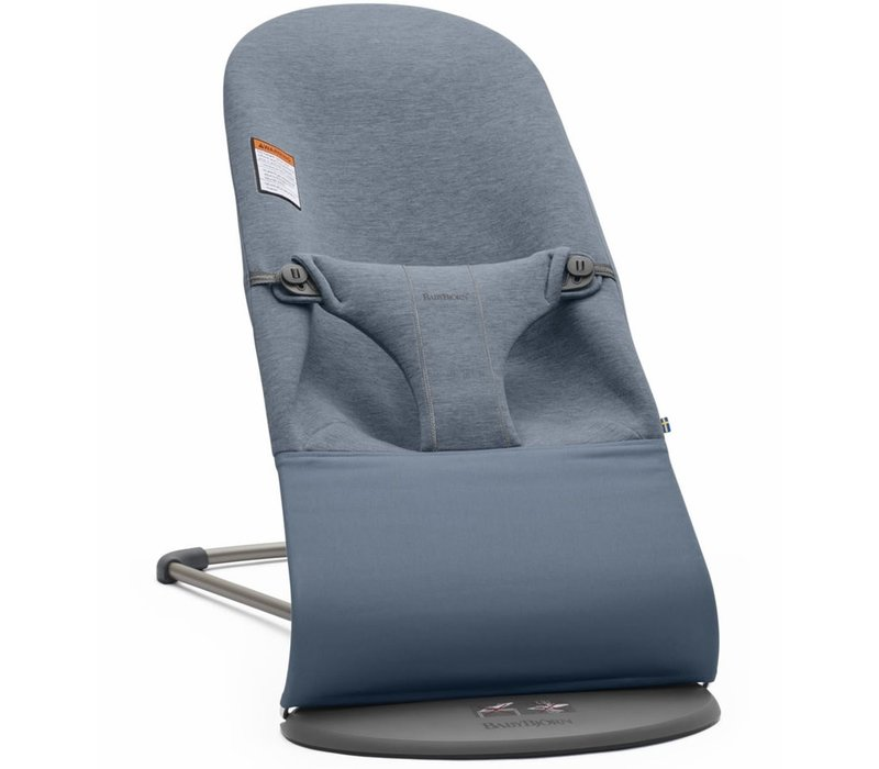 BABYBJORN Bouncer Bliss 3D Jersey In Dove Blue