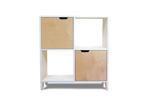 Spot On Square Spot On Square Hiya Bookshelf-Birch