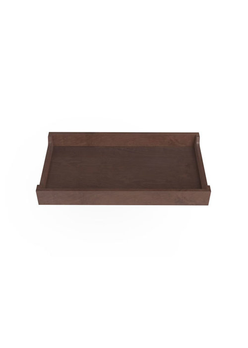 Spot On Square Spot On Square 34'' Wide Changing Tray-Walnut Stain