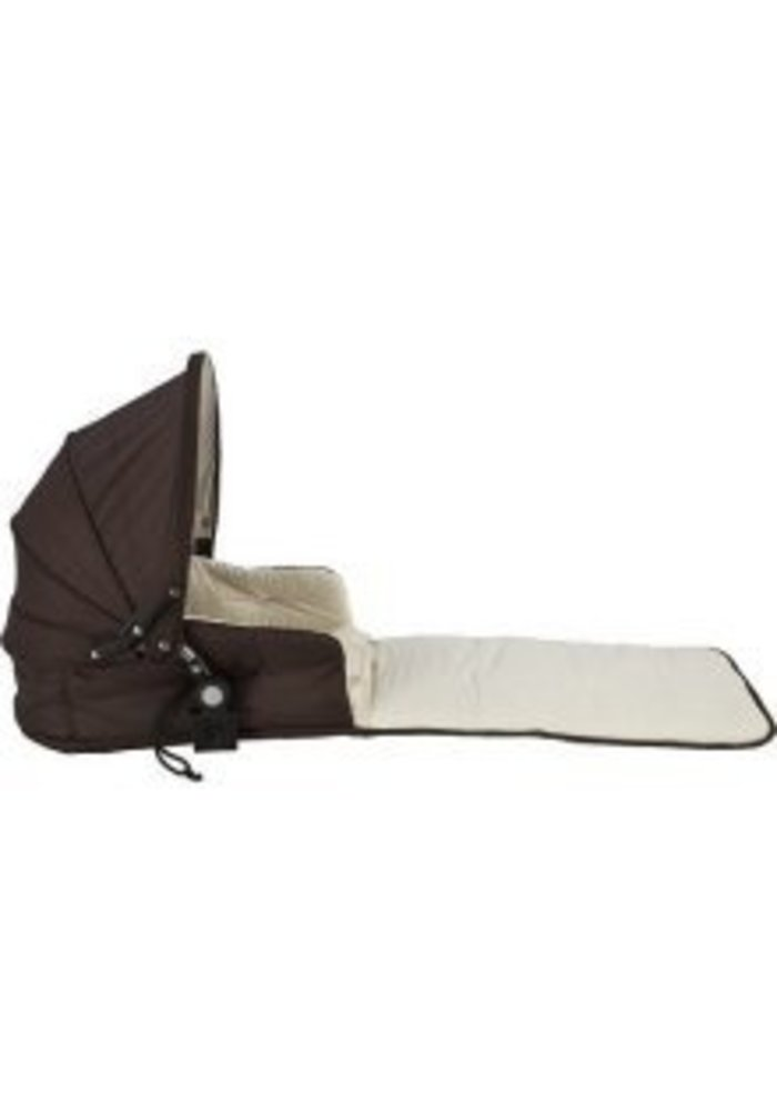 CLOSEOUT!! Valco Baby Single Tri-Mode & Zee Husssh Bassinet In Hot Chocolate