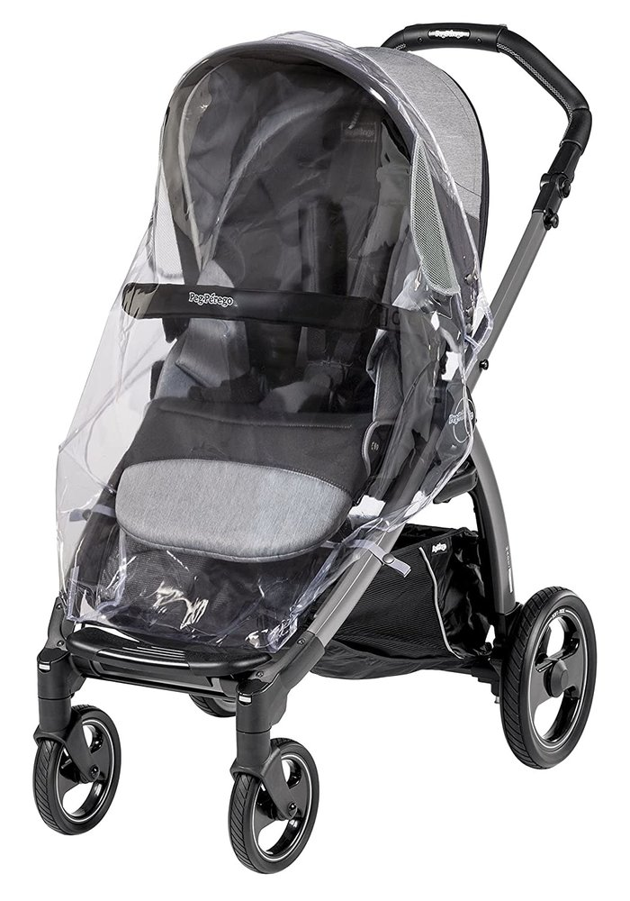 Peg Perego Book Pop Up, Team, & YPSI Rain Cover for Seat and Bassinet
