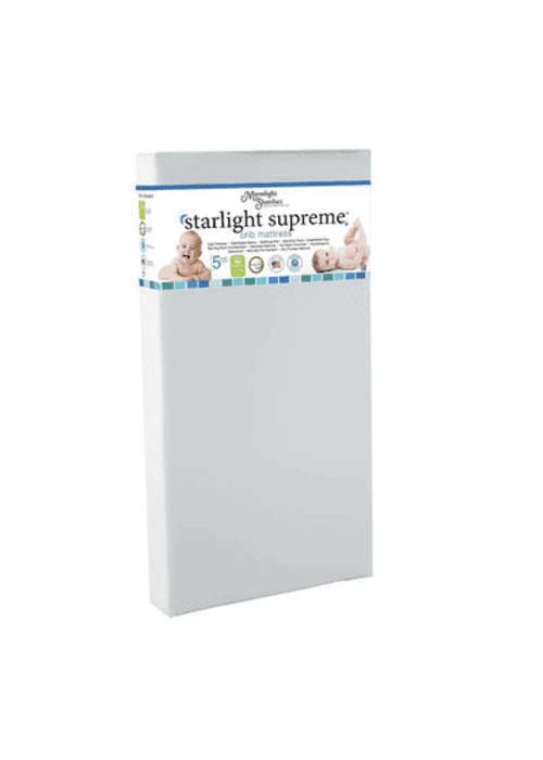 Moonlight Slumber Moonlight Slumber Supreme Twin Foam w/BabyCool Visco-OxyFlo Design, BreatheWell core