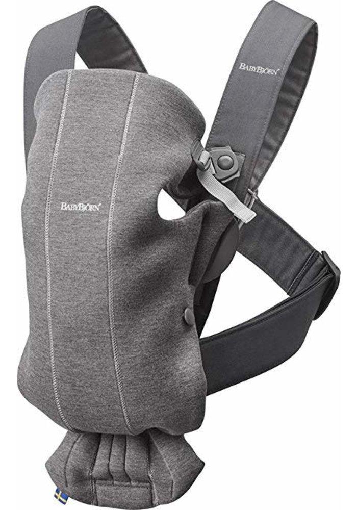 BABYBJORN Baby Carrier Mini 3D Jersey, In Dark Grey (Heather)