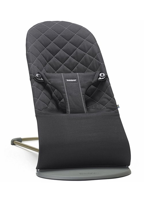 Baby Bjorn BABYBJORN Bouncer Bliss Quilted Cotton - Black