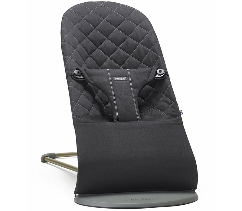 BABYBJORN Bouncer Bliss Quilted Cotton - Black