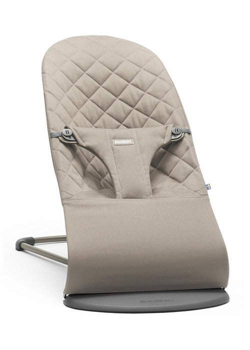 Baby Bjorn BABYBJORN Bouncer Bliss Quilted Cotton - Sand Grey