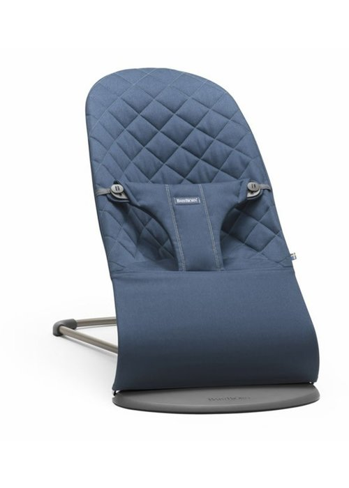 Baby Bjorn BABYBJORN Bouncer Bliss Quilted Cotton - Midnight Blue