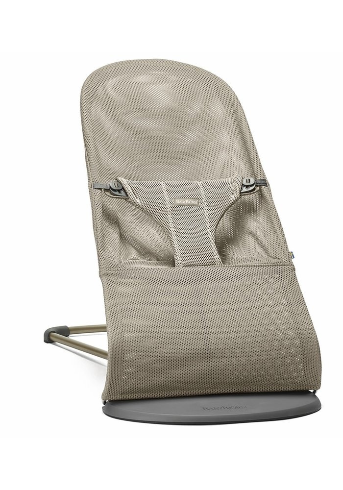 BABYBJORN Bouncer Bliss Mesh - Greige (Beige Grey)