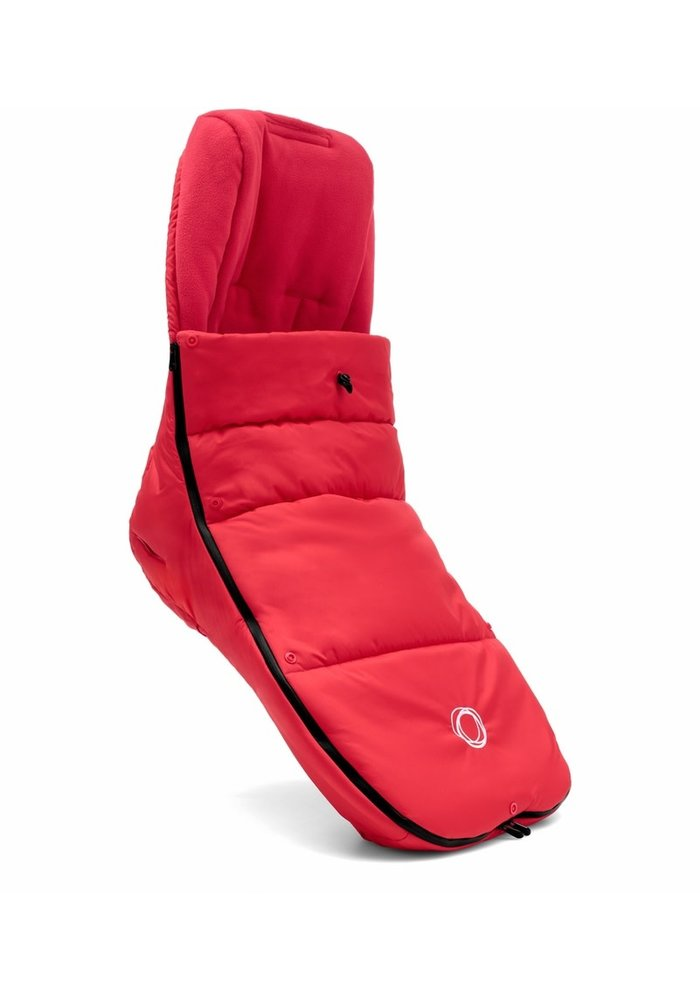 Bugaboo Universal High Performance Footmuff In Neon Red