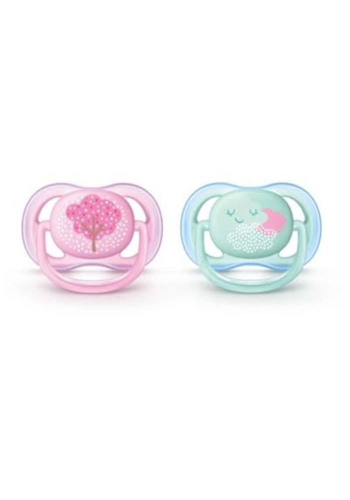 Philips Avent Air Pacifier 0-6 Month 2 Pk
