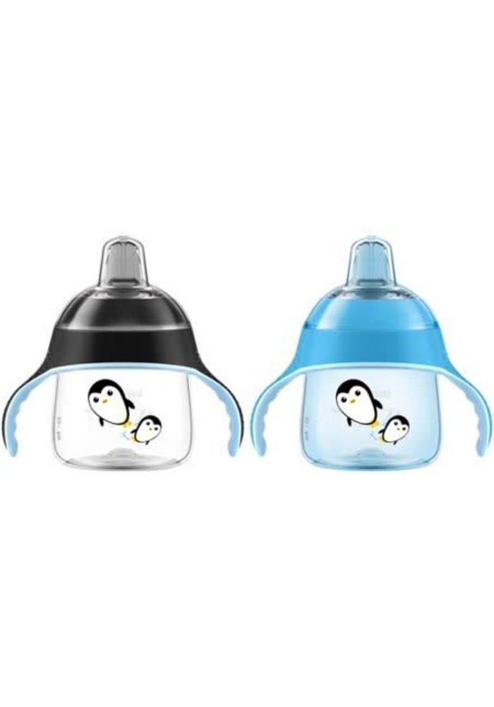 Avent My Penguin Sippy 7 Ounce 2 Pack