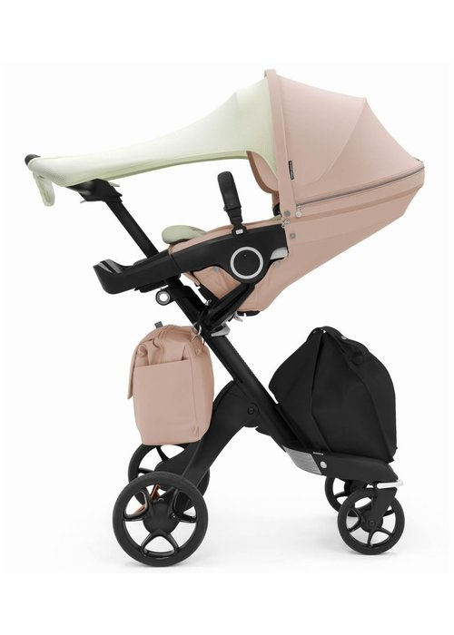 Stokke Stokke Xplory Balance Includes Sun Shade, Newborn Inlay, Changing Bag In Balance Pink