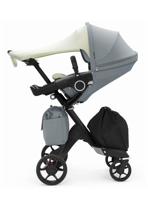 Stokke Stokke Xplory Balance Includes Sun Shade, Newborn Inlay, Changing Bag In Balance Blue