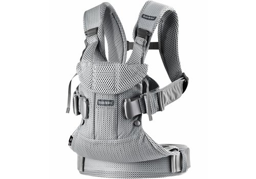 Baby Bjorn BABYBJORN Baby Carrier One, Air In Silver In 3D Mesh