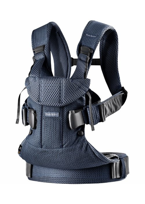 Baby Bjorn BABYBJORN Baby Carrier One, Air In Navy Blue In 3D Mesh