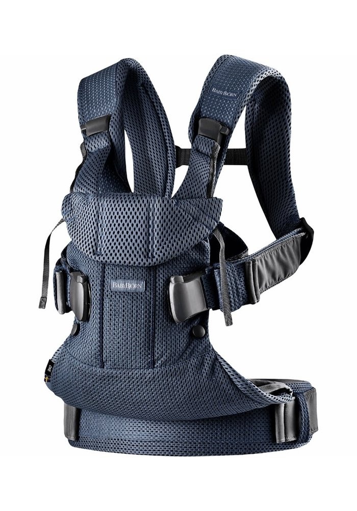 BABYBJORN Baby Carrier One, Air In Navy Blue In 3D Mesh