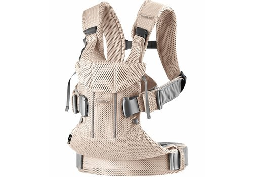 Baby Bjorn BABYBJORN Baby Carrier One, Air In Pearly Pink In 3D Mesh