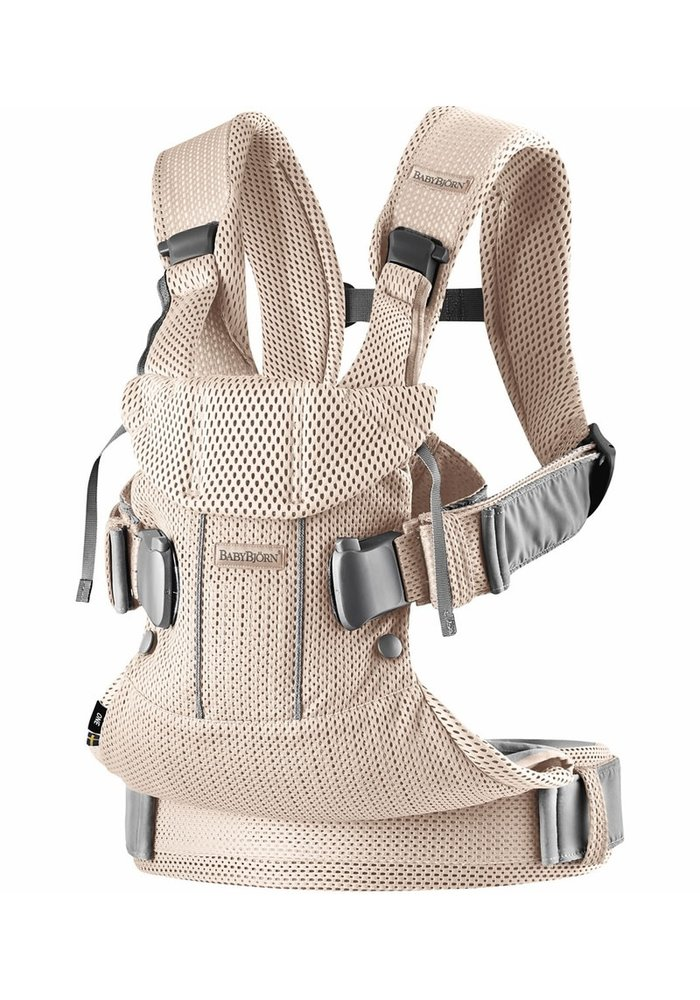 BABYBJORN Baby Carrier One, Air In Pearly Pink In 3D Mesh