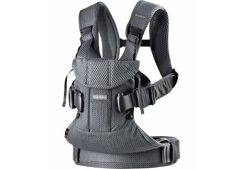 Baby Bjorn BABYBJORN Baby Carrier One, Air In Anthracite In 3D Mesh