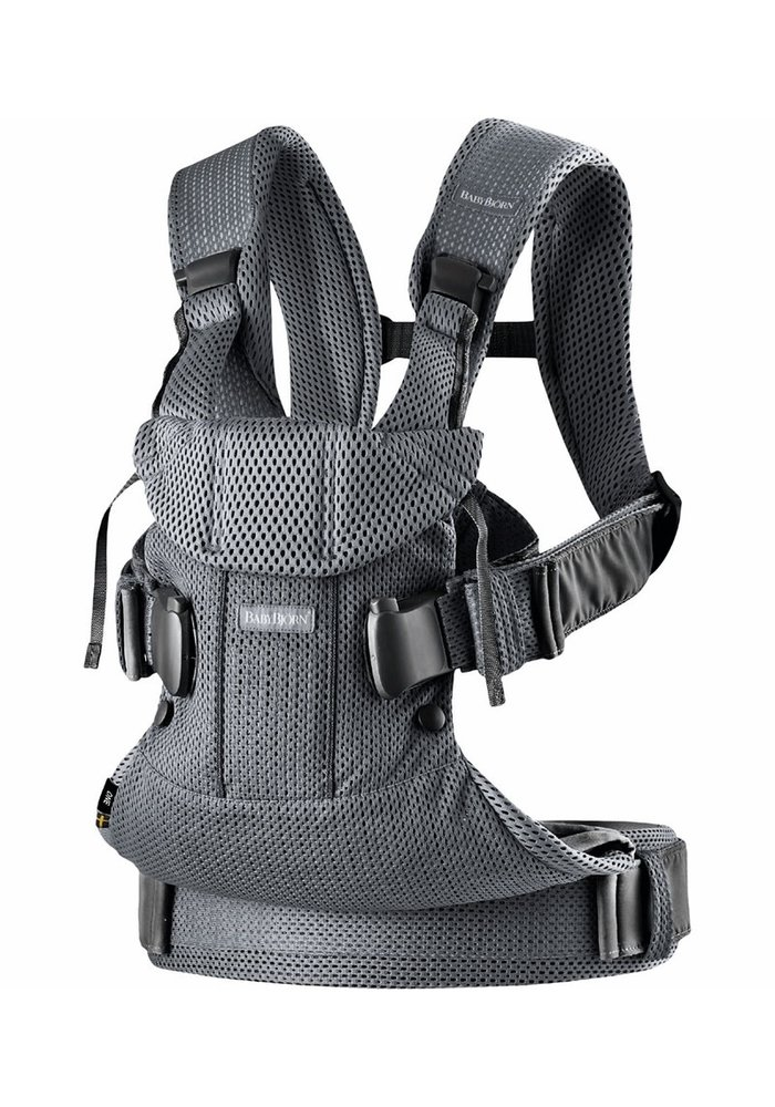 BABYBJORN Baby Carrier One, Air In Anthracite In 3D Mesh