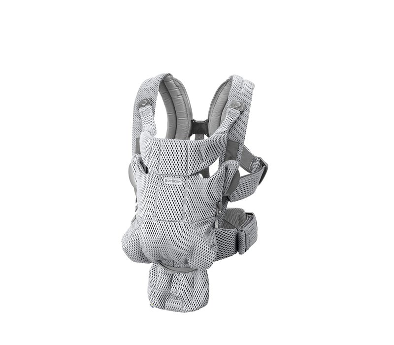 BABYBJORN Baby Carrier Free, 3D Mesh In Gray