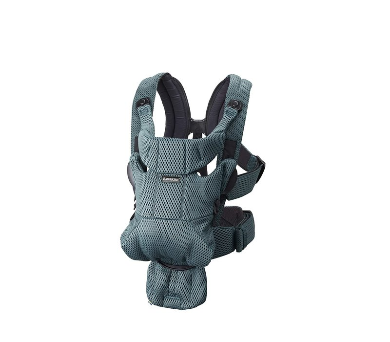 BABYBJORN Baby Carrier Free, 3D Mesh In Sage Green