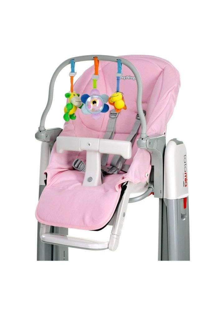 Peg Perego Tatamia Accessories Kit In Pink- Rosa