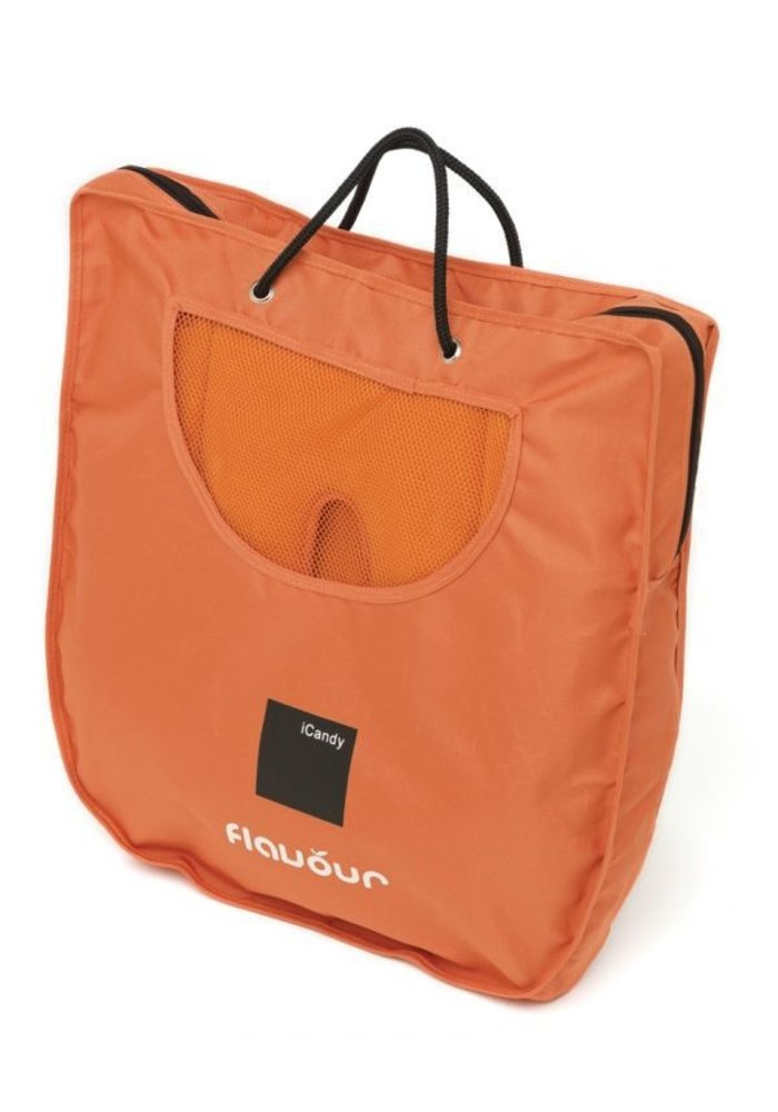 CLOSEOUT!! iCandy Flavour Canopy Hood and Core Seat Snuggle In Mandarin