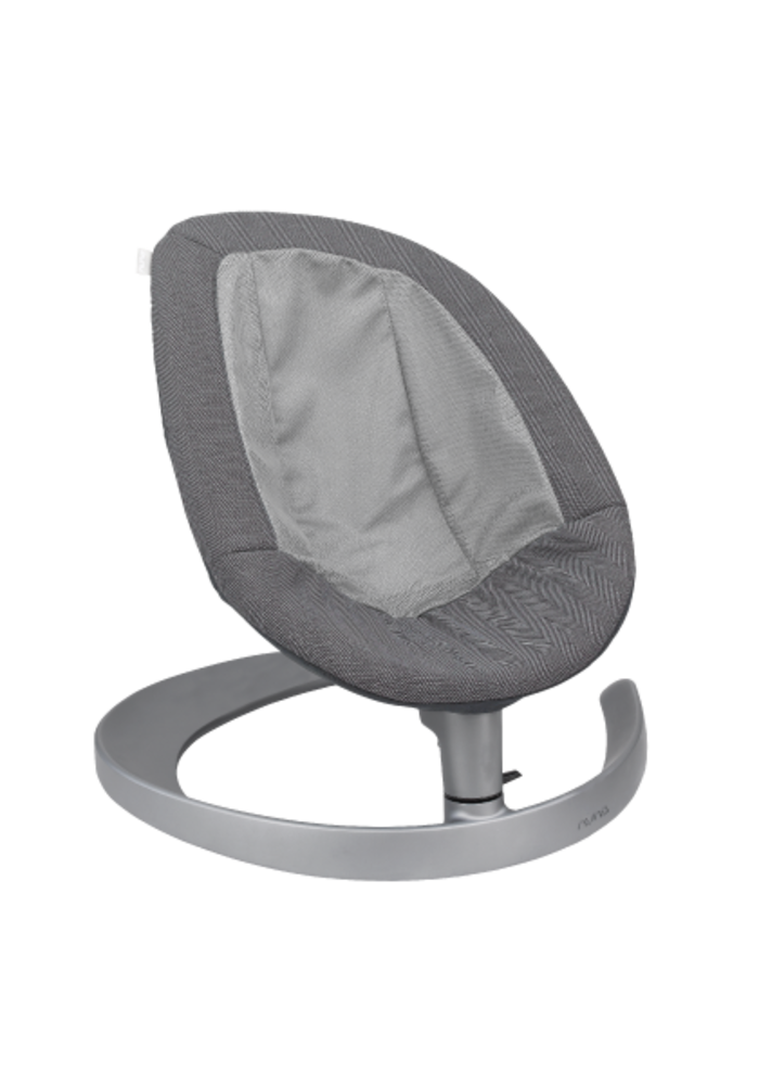 Nuna Leaf Grow Baby Child Seat and Swing - Iron