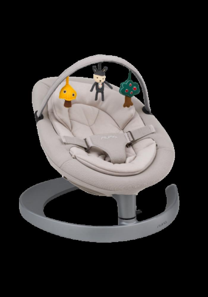 Nuna Leaf Grow Baby Child Seat and Swing - Champagne