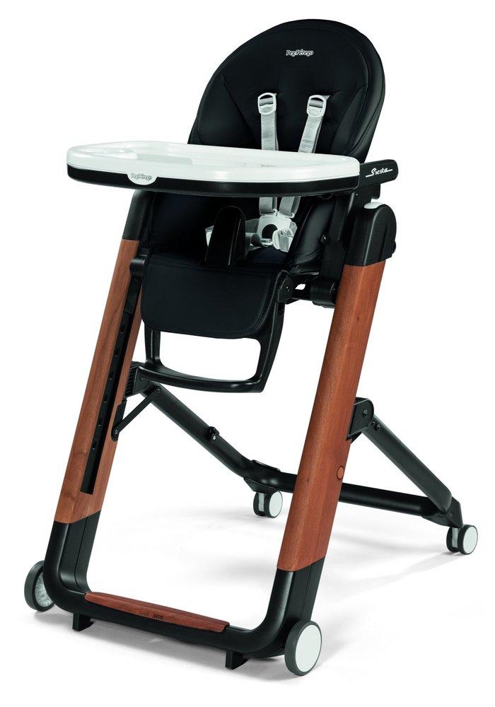 Peg Perego Prima Siesta High Chair In Agio Black