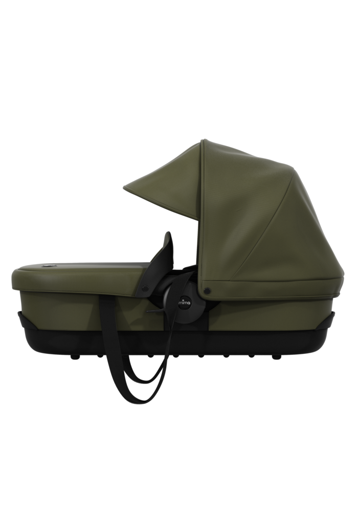 Mima Zigi Carrycot In Olive Green
