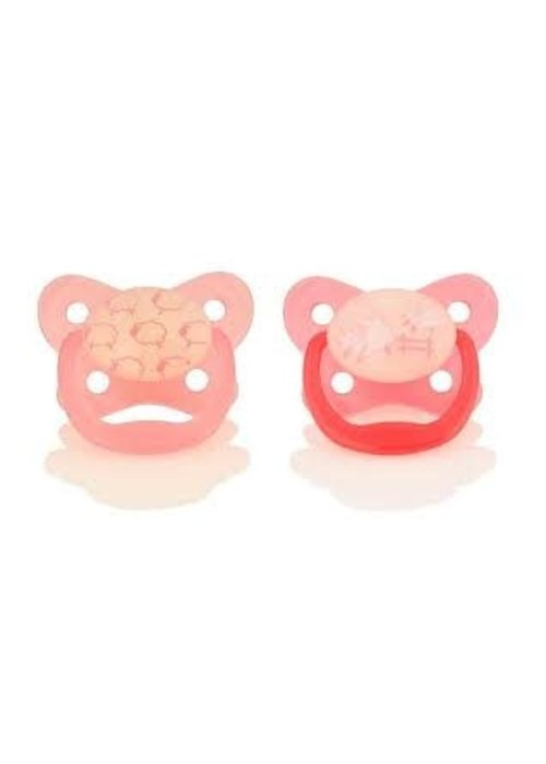 Dr. Brown Dr. Browns Glow in the Dark Pacifier, Stage 1 Assorted