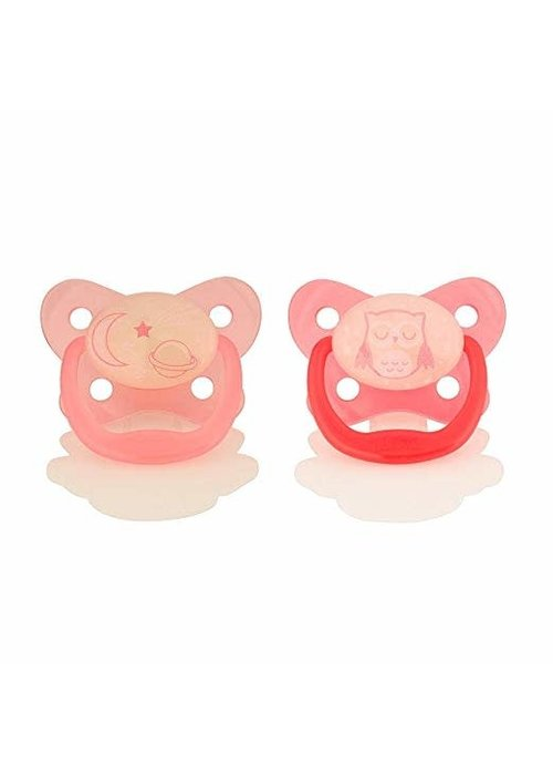 Dr. Brown Dr. Browns Glow in the Dark Pacifier, Stage 2 Assorted