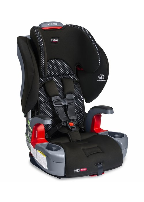 Britax Britax Grow With You ClickTight Booster Car Seat - Cool Flow Gray
