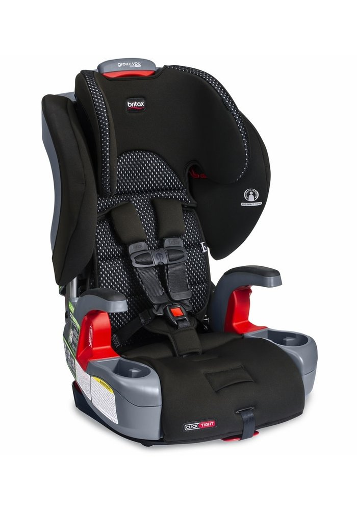 Britax Grow With You ClickTight Booster Car Seat - Cool Flow Gray