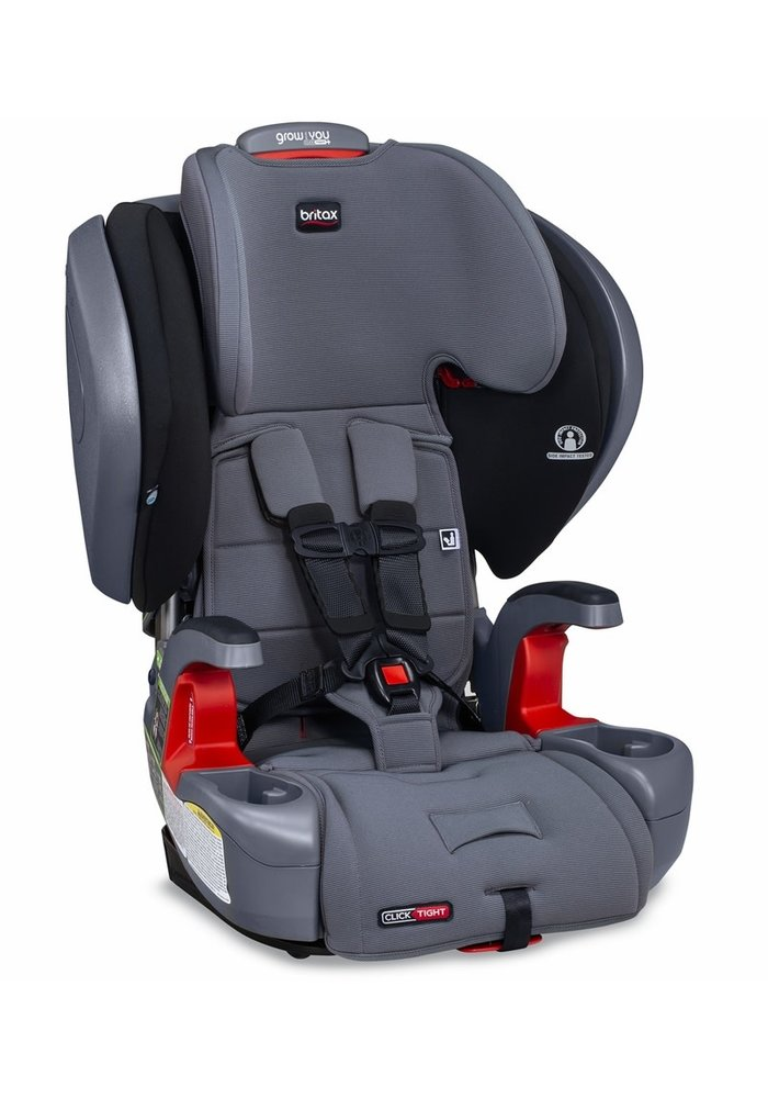 Britax Grow With You ClickTight Plus Booster Car Seat - Otto Safewash
