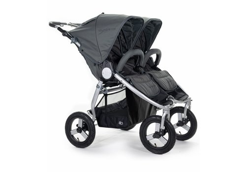Bumbleride 2020 Bumbleride Indie Twin In Dawn Grey