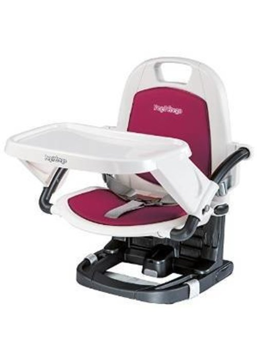 Peg-Perego Peg Perego Rialto Booster Seat Highchair In Berry-Rasberry