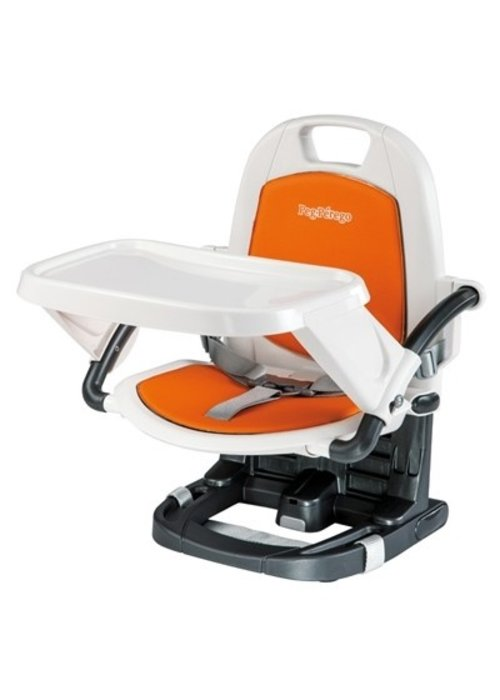 Peg-Perego Peg Perego Rialto Booster Seat Highchair In Arancia-Orange
