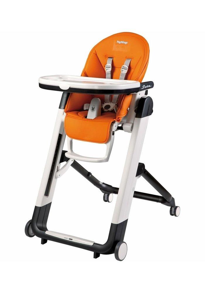 Peg Perego Prima Siesta High Chair In Arancia- Orange
