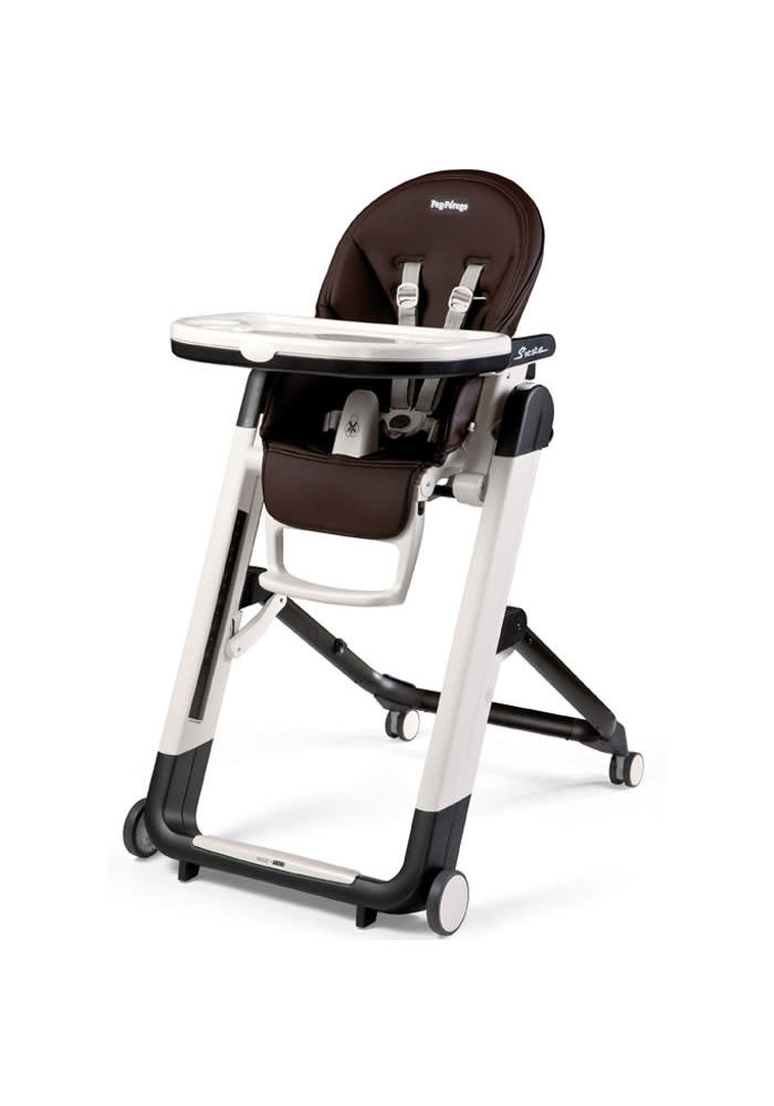 Peg Perego Prima Siesta High Chair In Cacao - Brown