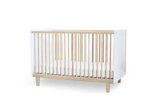 Oeuf Oeuf Rhea Crib In White/Birch