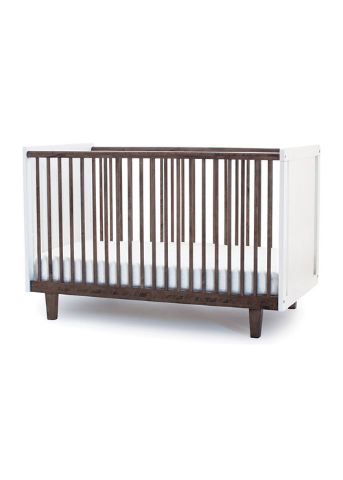Oeuf Oeuf Rhea Crib In White/Walnut